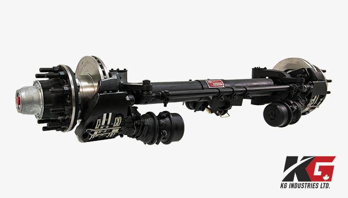 KGI Self-Steer Heavy Duty Axles